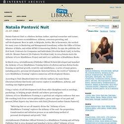 Nataša Pantović Nuit