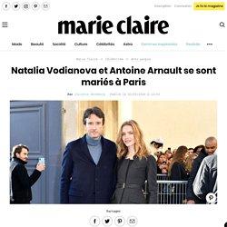 Natalia Vodianova et Antoine Arnault se sont mariés à Paris