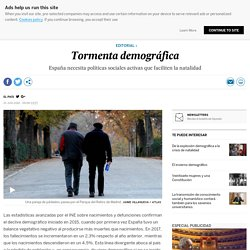 Natalidad: Tormenta demográfica