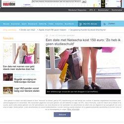 Een date met Natascha kost 150 euro: 'Zo heb ik geen studieschuld' - RTL Nieuws