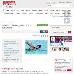 Natation - Avantages et contre-indications