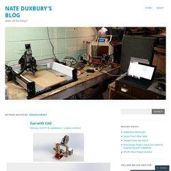 Nate Duxbury's Blog