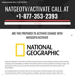 """Steps To Activate """"Nat Geo TV Channel"""" At """"natgeotv.com/account"""""""