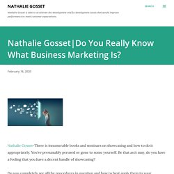 Do You Really Know What Business Marketing Is?