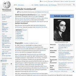 Nathalie Gontcharoff