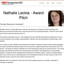 Nathalie Lecina - Award Pitch