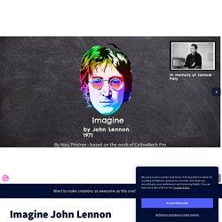 Imagine John Lennon by nathaliepledran on Genially