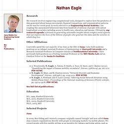 Nathan Eagle