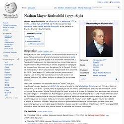 Nathan Mayer Rothschild 1777-1836