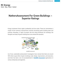 NathersAssessment For Green Buildings – Superior Ratings – RC Energy