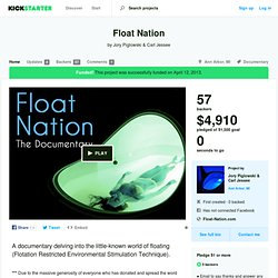 Float Nation by Jory Piglowski & Carl Jessee