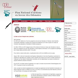 Plan National d'Actions Odonates