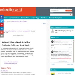 National Library Week Activities