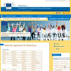 National agencies for Erasmus+