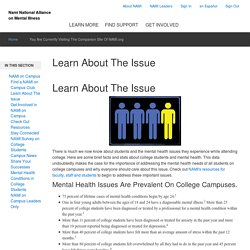 NAMI: The National Alliance on Mental Illness