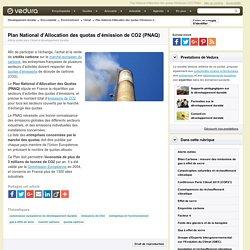 PNAQ - Plan National d'Allocation des quotas d'émission de CO2