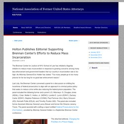 National Association of Former United States Attorneys