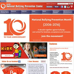 National Bullying Prevention Center
