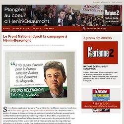 Le Front National durcit la campagne à Hénin-Beaumont