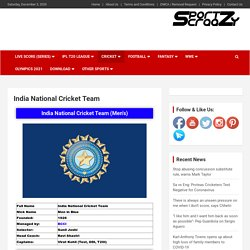 India National Cricket Team: Captains, Players, Coaches, Schedule, Jersey