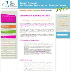 Conseil national des Chambres Régionales de l'Économie Sociale