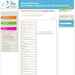 CNCRES Carte des CRESS