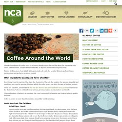 National Coffee Association USA > About Coffee > Coffee Around the World