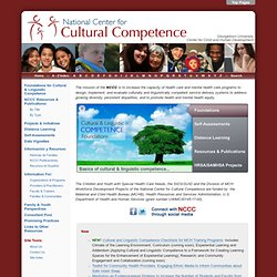 National Center for Cultural Competence