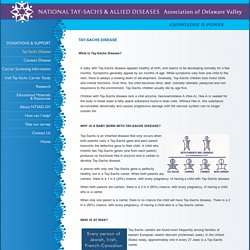 National Tay-Sachs & Allied Diseases Association of Delaware Valley (NTSAD-DV)