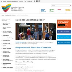 National Education Leader