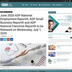 June 2020 ADP National Employment Report