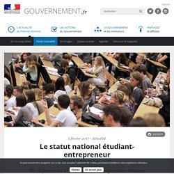 Le statut national étudiant-entrepreneur