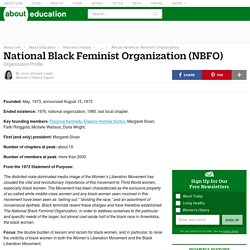 National Black Feminist Organization (NBFO)