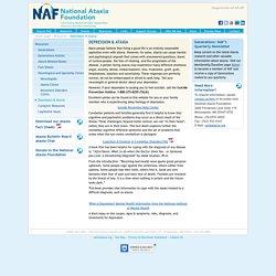 National Ataxia Foundation - Depression & Ataxia