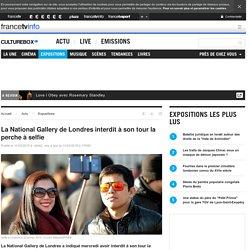 La National Gallery de Londres interdit à son tour la perche à selfie