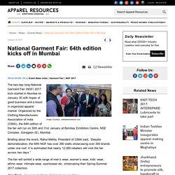 National Garment Fair: 64th edition kicks off in Mumbai