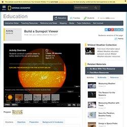 Build a Sunspot Viewer