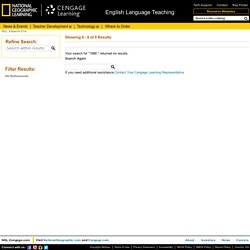National Geographic Learning - English Language Teaching & Learning (ELT) - Search = 21st
