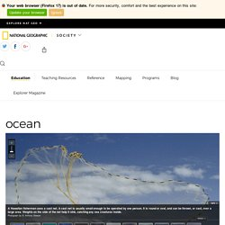 ocean - National Geographic Society