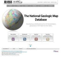 National Geologic Map Database