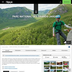 Parc national des Grands-Jardins