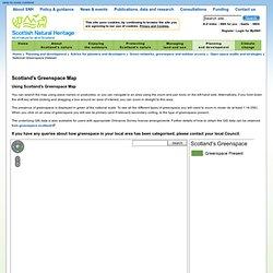 National Greenspace Dataset - Scottish Natural Heritage