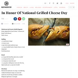 National Grilled Cheese Day - Sandwich Recipes
