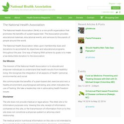 The National Health Association