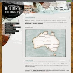 ABC Radio National - Hindsight - Holding our tongues
