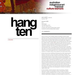 National Indigenous Art Triennial '07:Culture Warriors
