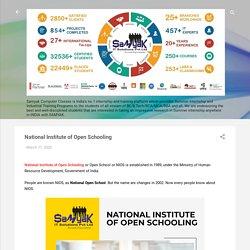 National Institute of Open Schooling