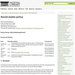 Done-Social Media Policy