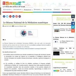 Le Réseau National de la Médiation numérique