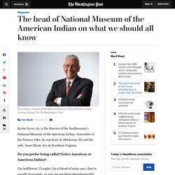 Head of Natl Museum of the American Indian on what we should all know